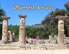 Greece - OLYMPIA - Travel Souvenir Fridge Magnet