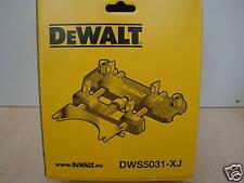 DEWALT DWS5031 ROUTER ATTACHMENT DWS520 PLUNGE SAW GUIDE RAILS DWS5021 DWS5022