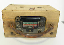 Vintage LEARADIO The Pilots Preference RADIO Beacon Airplane portable Rare