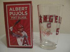 Los Angeles Angels Baseball Albert Pujols Pint Glass 8/1/2013 SGA - New