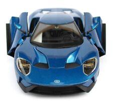 Maisto Ford GT 1:18 Modelo a escala de metal CARRERA DEPORTIVA COCHE AZUL m3184
