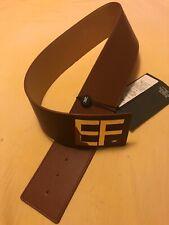 Cintura Donna Elisabetta Franchi Colore Marrone Medio Tg 44