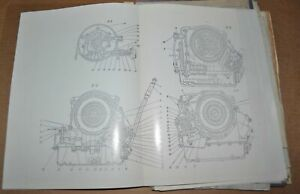 1980s ZIL 4104 Factory Blueprint Drawings of three-stage automatic transmission