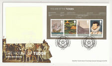 GB FDC 2009 House of the Tudors m/s