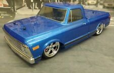 1972 Chevy C10 Custom Painted 1/10 RC Truck Body Drift,OnRoad, For Vaterra V-100