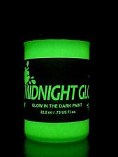 Glow in The Dark Paint, Green 0.75 fl oz, Made in Usa, Long Lasting Glow