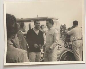 3 1960s Racing Photos: Phil Hill, Dan Gurney, Jim Hall, Jo Bonnier, Graham Hill