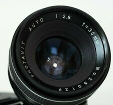 PHOTAVIT AUTO 35mm F2,8 -  M42 lens made in Japan