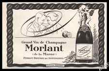 1925 CHAMPAGNE Reims Original French Advert Print  Ad - Z1