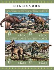 SOLOMON ISLANDS  2016  dinosaurs