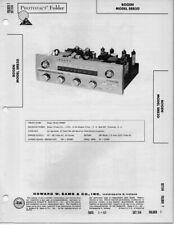 1961 DAVID BOGEN SRB20RADIO SERVICE MANUAL PHOTOFACT SCHEMATIC RECEIVER TUNER