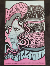 Grateful Dead, Otis Rush, Canned Heat - 1967 Fillmore (2nd print)