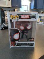 Funko Pop! Marvel Miles Morales (Gamer) #541 GameStop Exclusive w/ Protector