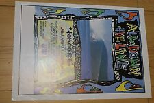 All Down The Line - Quicksilver Hawaii Aus 12x17in. 1980's Surfing Film Poster
