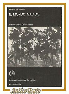 IL MONDO MAGICO di Ernesto De Martino 1981 Boringhieri libro antropologia