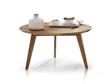 AUSTIN Couchtisch Beistelltisch Wohnzimmertisch Tisch Kernbuche rund 70 cm
