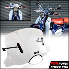 Clear Windshield Windscreen Headlight Cover For Honda C125 SUPER CUB 2019-20