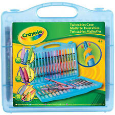Crayola Twistable Case With 36 Crayons For A Variety Of Colouring Fun - Blue