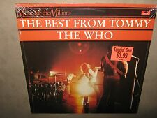 THE WHO Best from TOMMY Pinball Wizard RARE SEALED New IMPORT Vinyl LP I'm Free