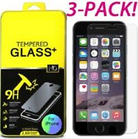 3-Pack, Screen Protector Tempered Glass for Iphone 6,7 and 8