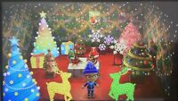 ANIMAL CROSSING New Horizons ACNH Christmas, Santa, Illuminated, Festive 40 Item