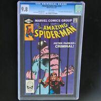 Amazing Spider-Man #219 🔥 CGC 9.8 White Pgs 🔥 Frank Miller Marvel Comic 1981