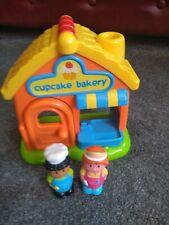 Elc Happyland Cupcake Bakery and Figures.  Sounds
