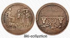 Médaille Sociedad Rural Argentina- Buenos-Aires. Exposicion 1910. Bronze