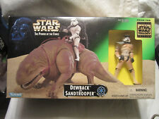 Star Wars 1997 The Power of the Force Action Figures Playset - Dewback and