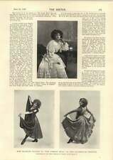 1898 Ms Blanche Vaudon Dancing In The French Made Edgar Turner Short Story