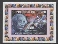 Guinea 5628 - 2006 EINSTEIN & HUBBLE deluxe sheet unmounted mint