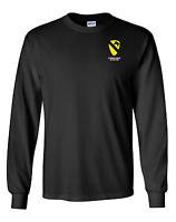 1st Cavalry Division Long-Sleeve Cotton Shirt- 4176