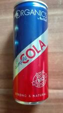1 Energy Drink Dose Red Bull Organic Simply Cola Full Voll 250ml Can Germany