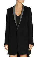 Haider Ackermann..Contrast Collar Wool Coat/Jacket