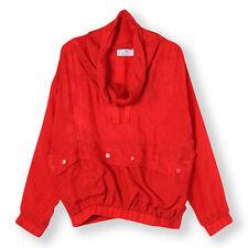 Adidas by Stella McCartney Scarlet Red Jacquard Print Track Top Jacket M