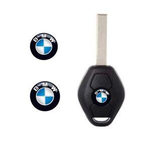 BMW 11mm (2 Pcs) Replacement Key Fob Logo Emblem Sticker Replacements
