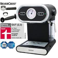 Espressomaschine Espresso 15-bar Pumpendruck Silvercrest Kaffee Maschine Maker