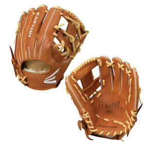 "Easton 11.5"" Adult Baseball Glove Flagship Series – Infield Model I Web RHT"