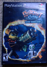 Ratchet & Clank: Going Commando (Sony PlayStation 2, PS2, 2003) w/manual + box