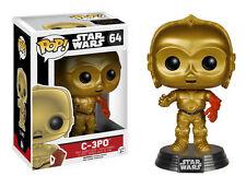Star Wars C-3PO Funko POP 64 Figure Movie Guerre Stellari Model
