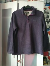 Ladies Regatta Half Zip Fleece Top Size 14