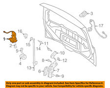 FORD OEM Liftgate-Lock Actuator Motor EJ5Z7843150A