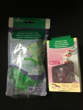 LOT OF CLOVER WONDER CLIPS -  24 JUMBO 3157 AND 50 SMALL 3156 CLIPS