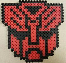 "Perler Bead Transformers Autobot Symbol 4.5"" x 4.5"""