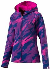 Puma Energized All Over Print Women Hoody Pink Blue Stylish Gym Training Hoodie