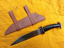 Hadseax knife with Sheath - Horn Historical Reenactment Combat Viking