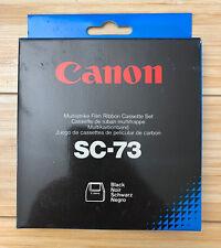 Canon SC-73 Multistrike Film Ribbon Cassettes Black 913940