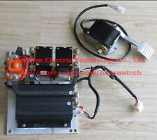CURTIS 36V / 48V 1205M-5603 500A Controller Assemblage with Foot Pedal Throttle