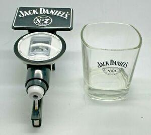 JACK DANIELS 25 ml OPTIC AND GLASS - PUB HOME BAR SPIRIT DISPENSER WHISKEY