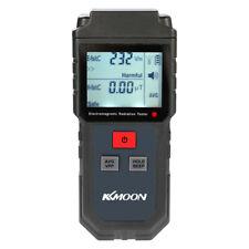 KKmoon Handheld EMF Meter Digital LCD Electromagnetic Radiation Detector UK V7X4